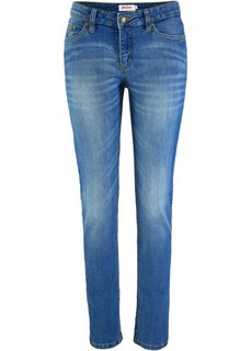 Эластичные джинсы скинни, cредний рост (N) (синий) Bonprix