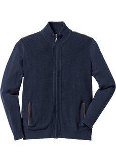 Вязаный кардиган Regular Fit (темно-синий) Bonprix