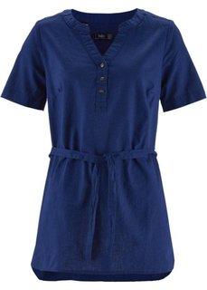 Льняная туника (полуночная синь) Bonprix