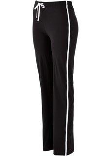 Спортивные брюки стретч (черный) Bonprix