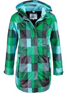 Удлиненная куртка 3 в 1 (черный в клетку) Bonprix