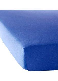Простыня-чехол Джерси (синий) Bonprix