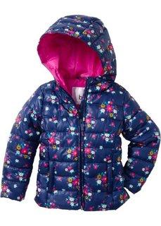 Куртка на ватной подкладке, Размеры  80/86-128/134 (ночная синь с рисунком) Bonprix