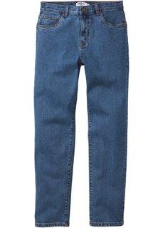 Зауженные снизу джинсы стретч, cредний рост N (синий) Bonprix