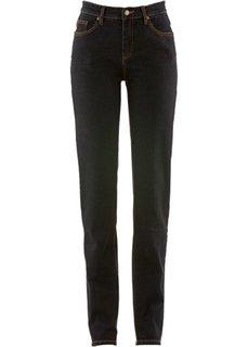 Классические джинсы-стретч, низкий рост K (черный) Bonprix