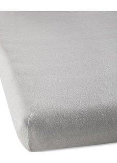 Простыня-чехол из эластичного джерси (серый) Bonprix