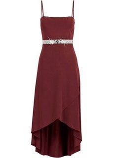 Трикотажное платье (бордовый) Bonprix