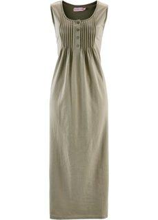 Трикотажное платье (новый хаки) Bonprix