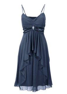 Вечернее платье в стиле ампир (темно-синий) Bonprix