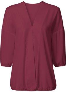 Блузка (кленово-красный) Bonprix