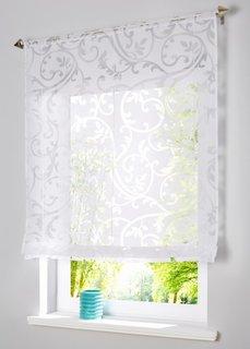 Римская штора Рено, кулиска (полупрозрачный/белый) Bonprix