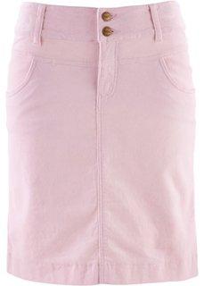 Вельветовая юбка (жемчужно-розовый) Bonprix