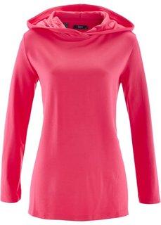 Свитшот с длинным рукавом (ярко-розовый) Bonprix