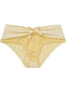 Трусики-панти (нежно-желтый) Bonprix