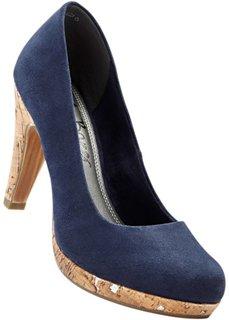 Туфли на платформе (ночная синь) Bonprix