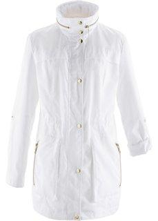Куртка-парка (белый) Bonprix