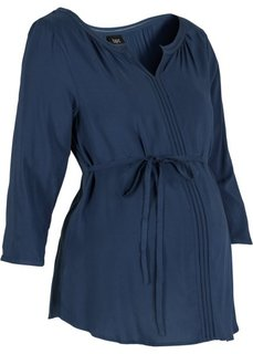 Деловая мода для беременных: туника (темно-синий) Bonprix