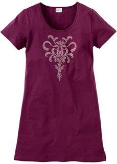 Ночная сорочка (красная ягода с принтом) Bonprix