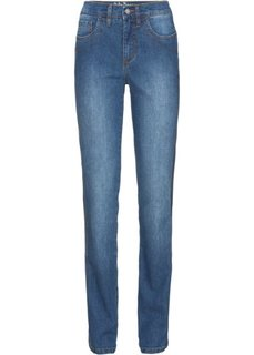 Прямые стрейчевые джинсы, cредний рост (N) (синий) Bonprix