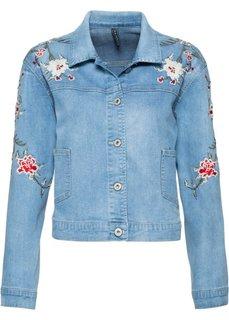 Джинсовая куртка (голубой) Bonprix