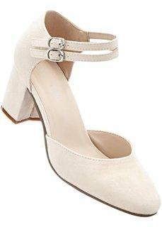 Туфли на ремешке (песочно-бежевый) Bonprix