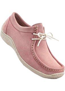 Замшевые туфли (нежно-розовый) Bonprix