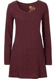 Удлиненная футболка (кленово-красный) Bonprix