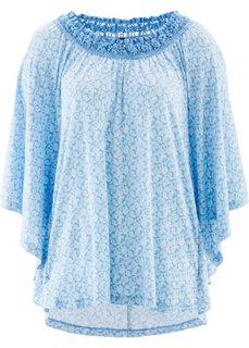 Трикотажная туника дизайна Maite Kelly (нежно-голубой/белый с рисунком) Bonprix