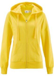 Трикотажная куртка (лимонно-желтый) Bonprix