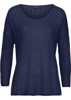 Летний пуловер (ночная синь) Bonprix