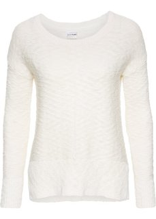 Летний пуловер (кремовый) Bonprix