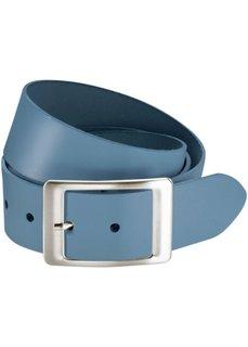 Кожаный ремень Kayla (синий джинсовый) Bonprix