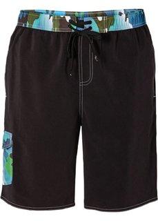 Мужские плавки-шорты (черный/синий/зеленый) Bonprix