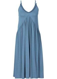 Трикотажное платье (нежно-голубой) Bonprix