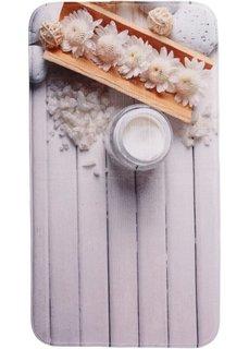 Коврик для ванной Велнес из пены-мемори (кремовый) Bonprix