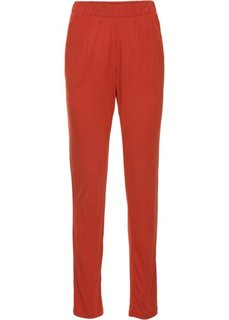 Трикотажные брюки (кирпичный) Bonprix