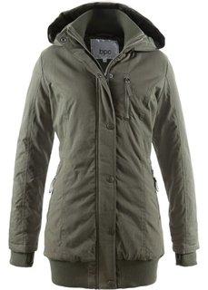 Куртка-парка с капюшоном (темно-оливковый) Bonprix