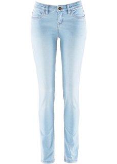 Джинсы-скинни стретч, SKINNY, низкий рост (K) (нежно-голубой выбеленный «потертый») Bonprix