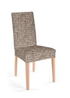Чехол для стула Мальта (кремовый/коричневый) Bonprix