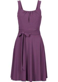 Коктейльное платье (виноградный) Bonprix