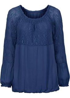 Блузка (ночная синь) Bonprix