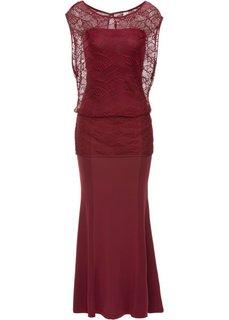 Платье (гранатовый) Bonprix