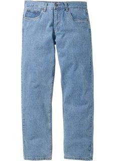 Джинсы Regular Fit Straight, низкий + высокий рост (U + S) (нежно-голубой) Bonprix