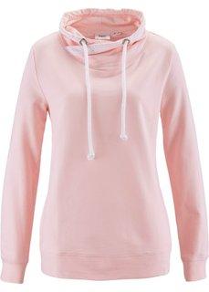 Свитшот с кружевом (розовый) Bonprix