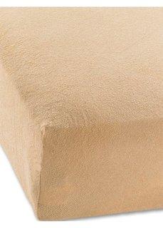 Эластичная простыня-чехол Махра (светло-коричневый) Bonprix