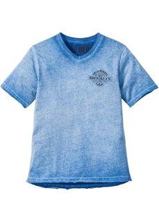 Футболка градиентной расцветки (ледниково-синий) Bonprix