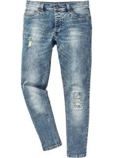Джинсы-стретч Skinny, длина (в дюймах) 32 (синий «мраморный») Bonprix