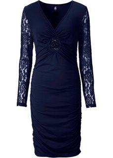 Платье (темно-синий) Bonprix