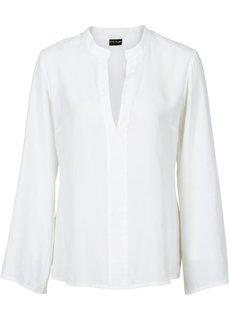 Блузка с расклешенными рукавами (белый) Bonprix