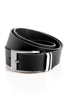 Кожаный ремень (черный) Bonprix